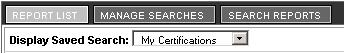 Report List My Certifications image